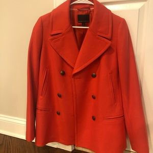 Banana Republic Pea Coat - red size M - brand new